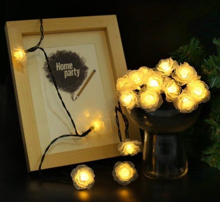Solar Fairy String Lights