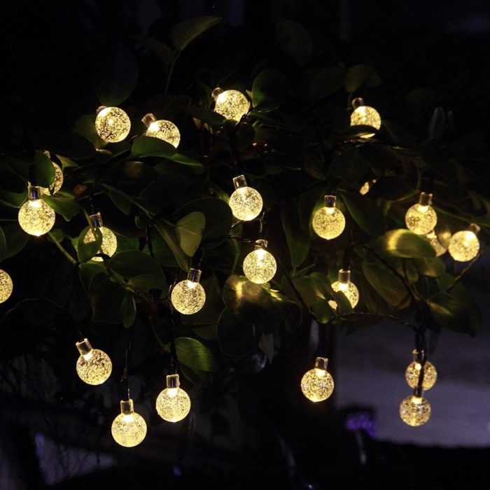 String Xmas Lights Outside Tree : Unique & Decorative String Light for Holidays Home Designing