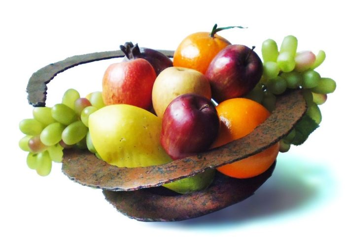 Spiral Fruit Bowl