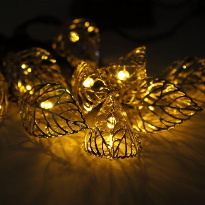 Tree Leaf String Lights