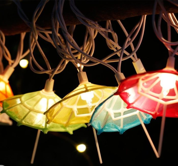 Umbrella shaped String Lights