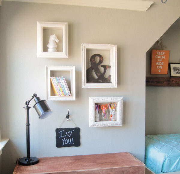 Wall Decor Frame Shelves