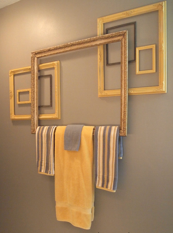 Wall Decor Towelbar Frames