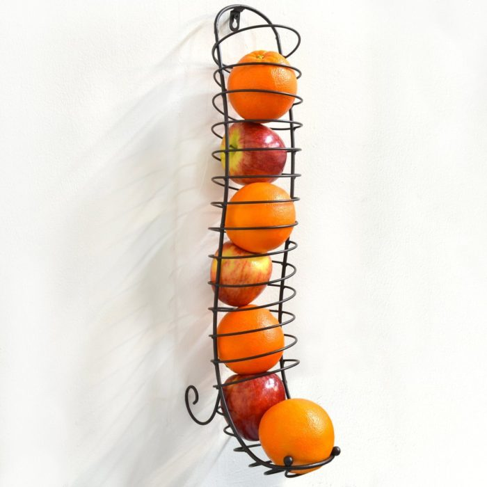 Wall Mounted Wire Fruit Dispenser
