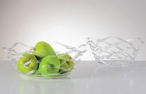 Wave Acrylic Fruit Bowls