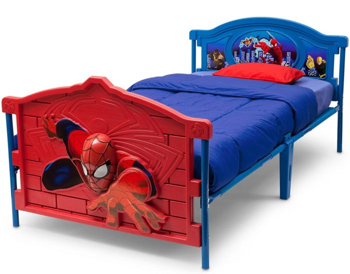 3D-Footboard Twin Bed