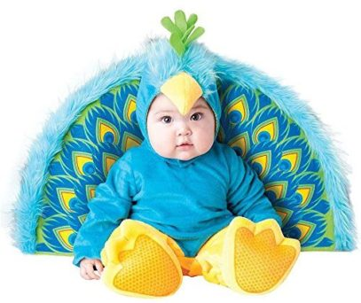Baby-Peacock-Costume-for Halloween