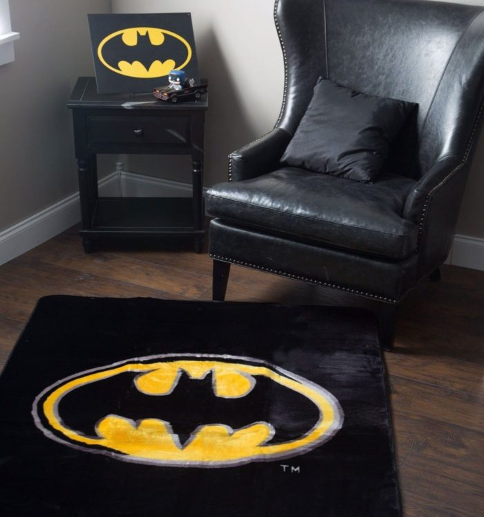Batman Emblem Area Rug