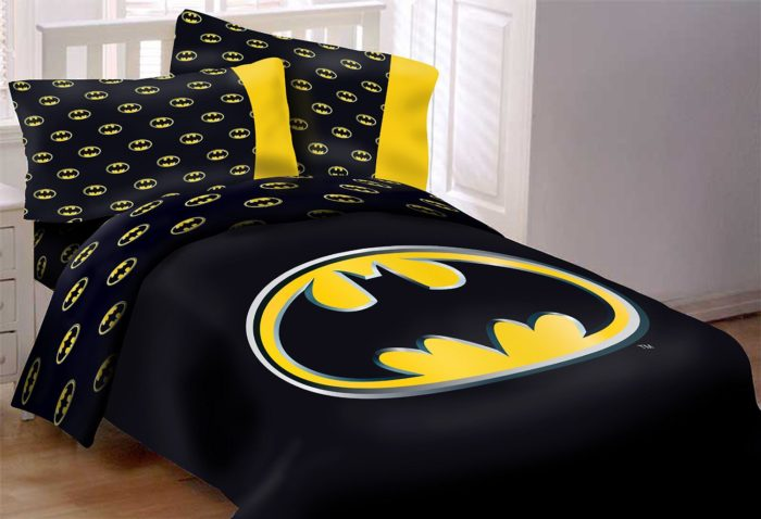 Batman Emblem Comforter Set