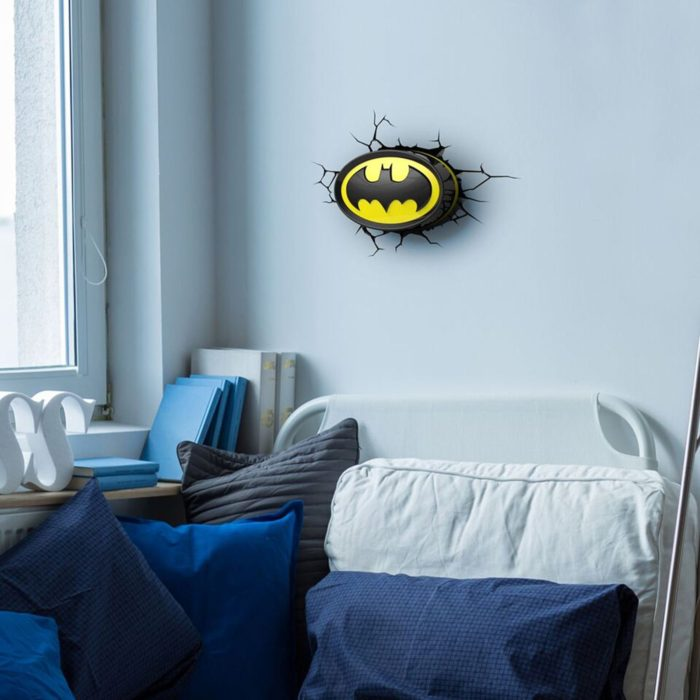 Batman Logo 3D Wall Light