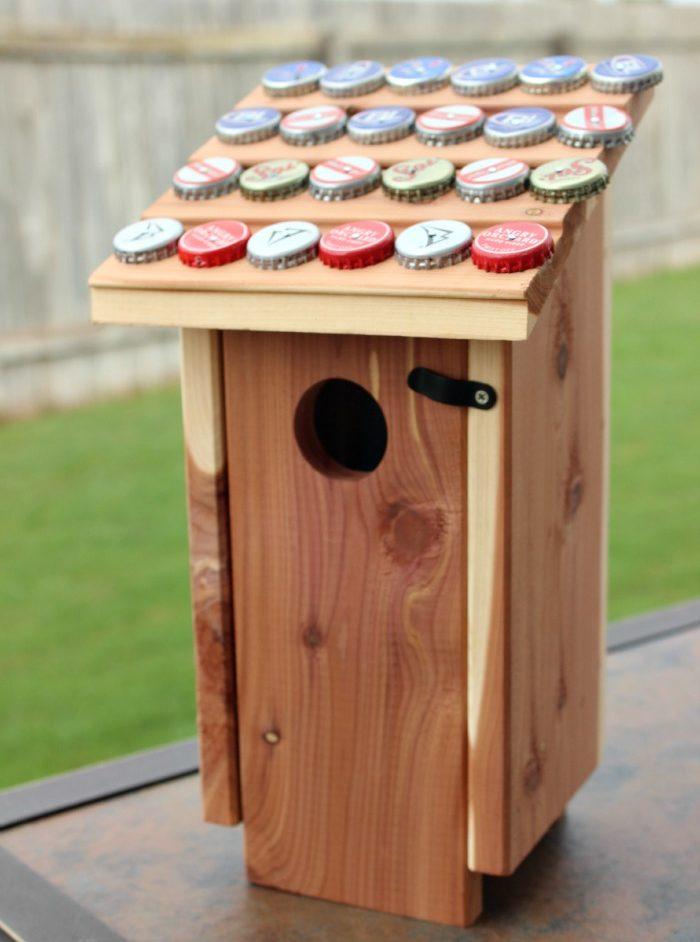 Bottle Cap Bird House