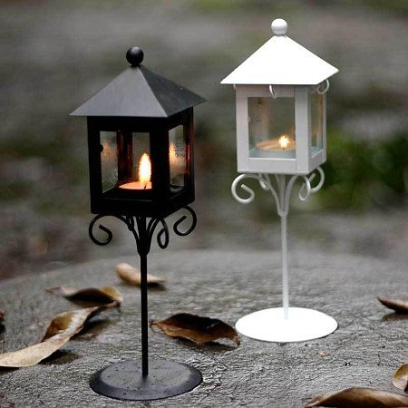 Candle Holder Steel Art Stand