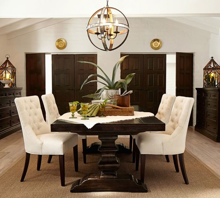 Dumont Mirrored Chandelier
