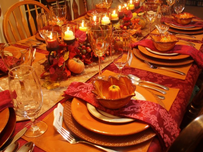 Fall Dinner Party Table Decor
