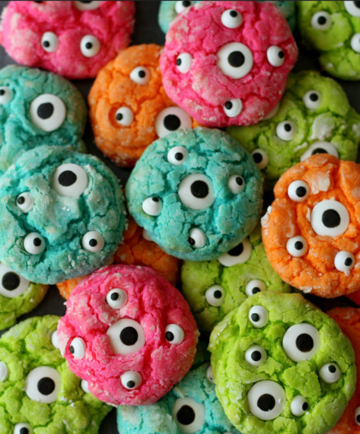 Gooey Monster Eye Cookies