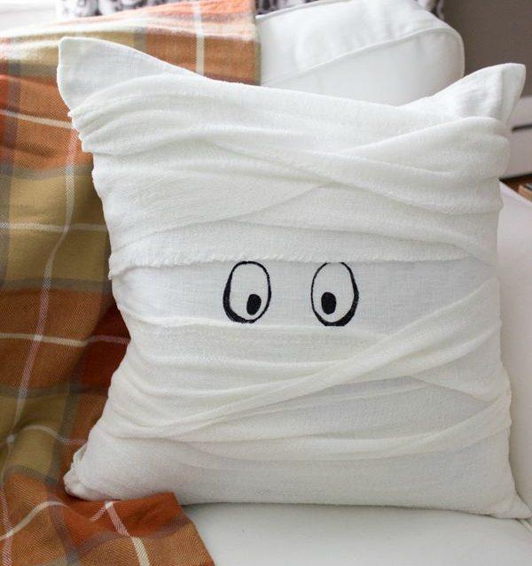 Halloween Mummy Pillow