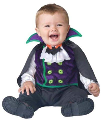Halloween Vampire Costume for Babies