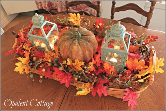 Harvest Basket Centerpiece