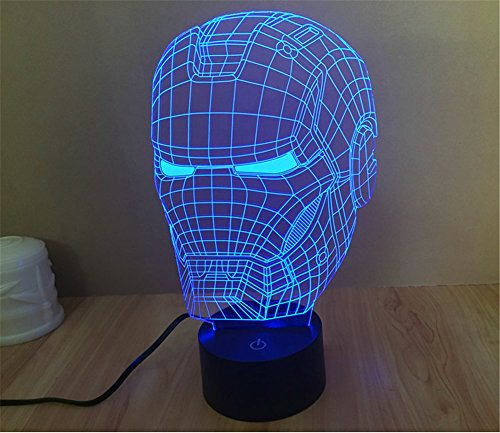 Iron Man Helmet Panel Light