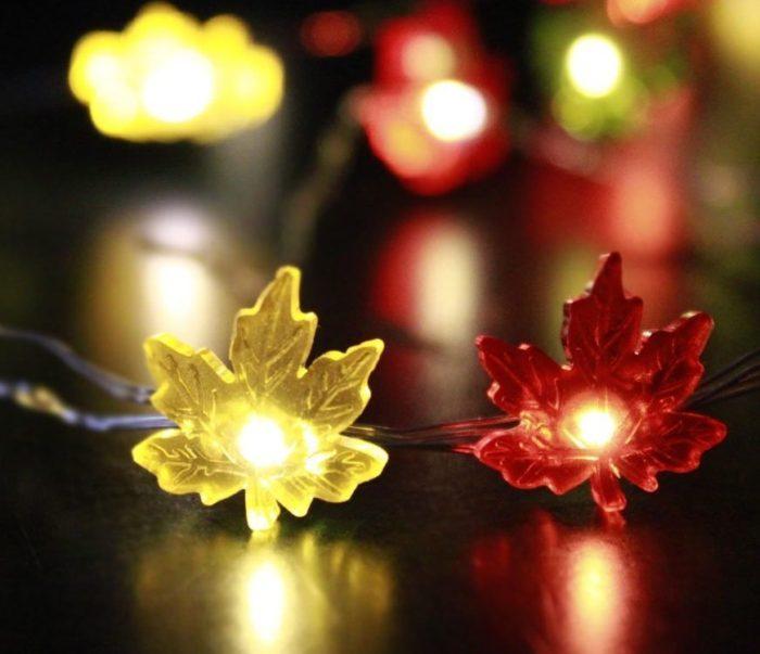 Maple Leaves Fairy String Lights