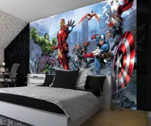 29 Amazing Super Hero Themed Things for Kids Room Decor