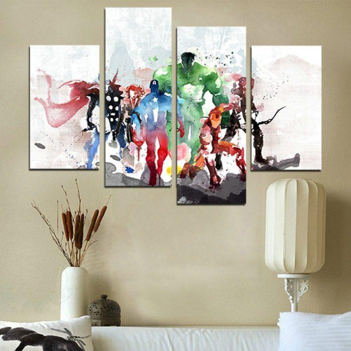 Modern Art Canvas Wall Paintings