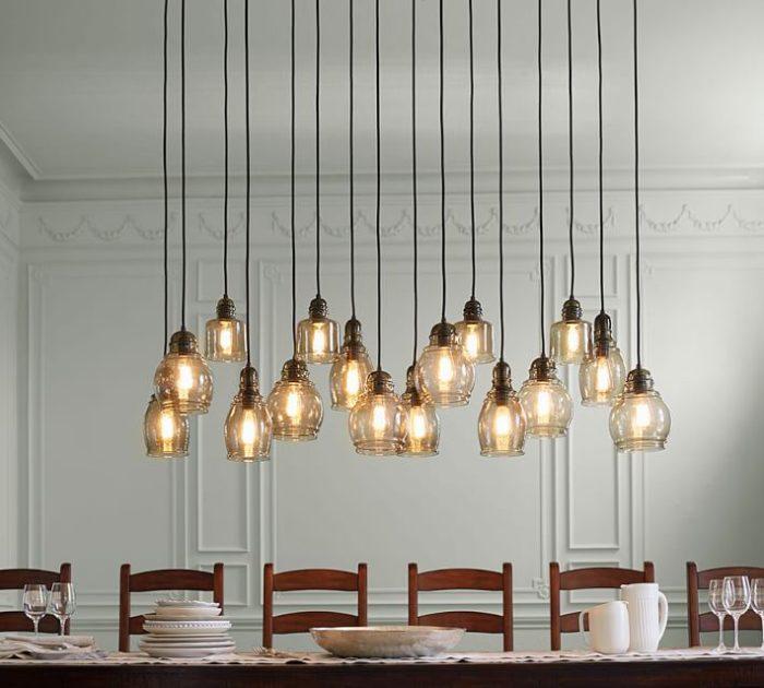 Paxton Glass 16-Light Pendant