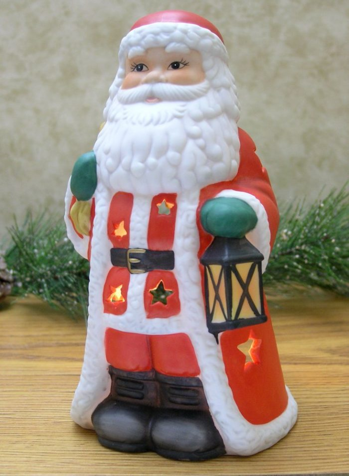 Santa Claus Candle Holder