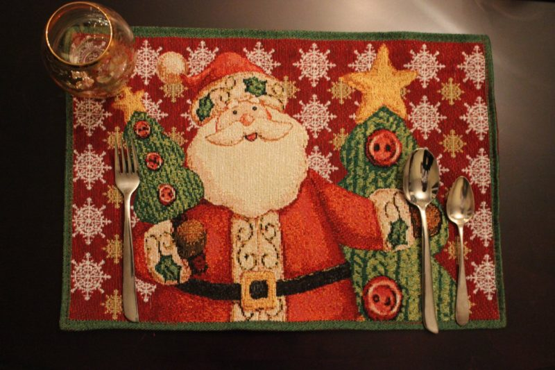 Santa Claus Is Coming Placemat