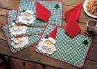 Santa Holiday Placemats
