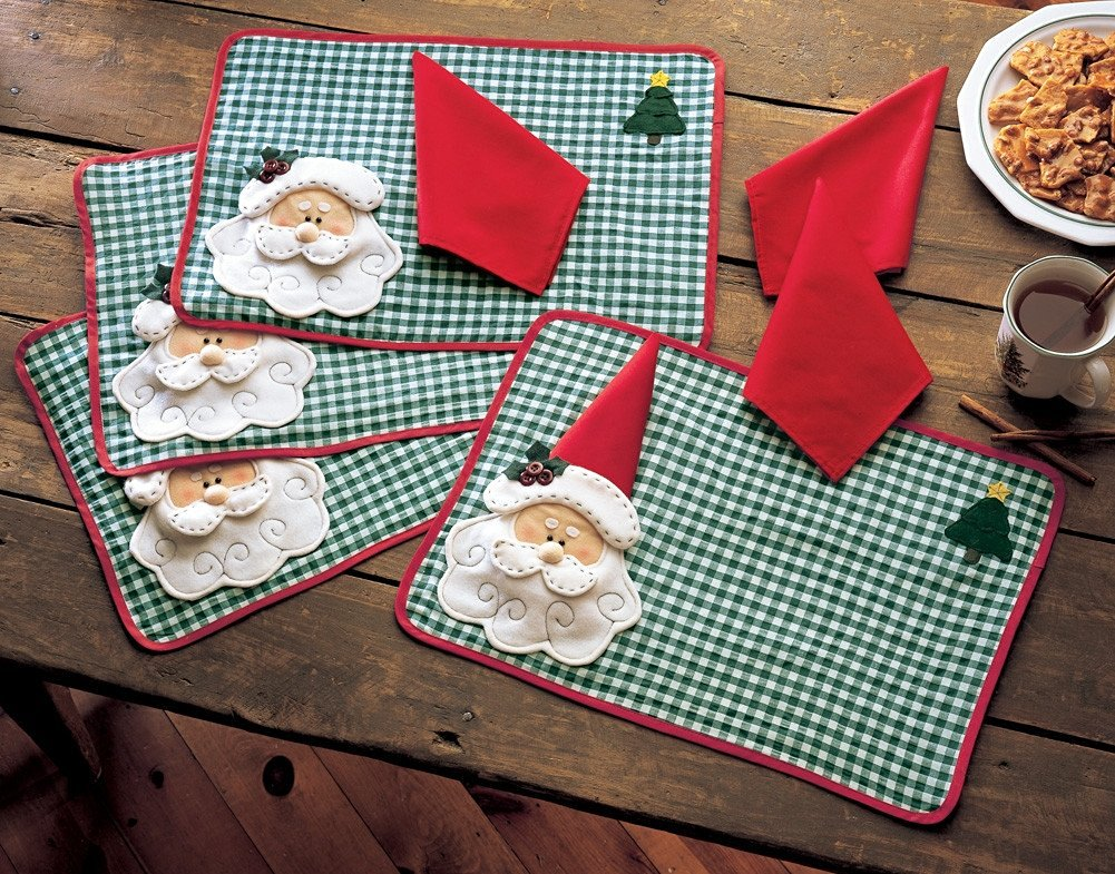 Santa Holiday Placemats