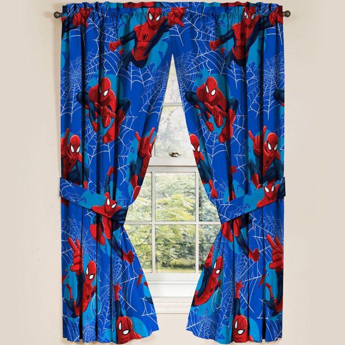 Spider-Man Panels Drapes