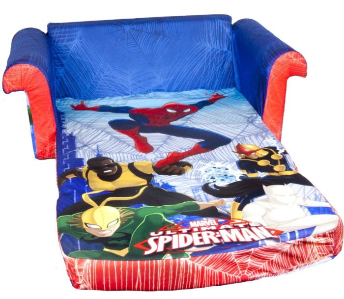 Spiderman Flip Open Sofa