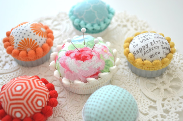 Stickable Bottle Cap Pincushion
