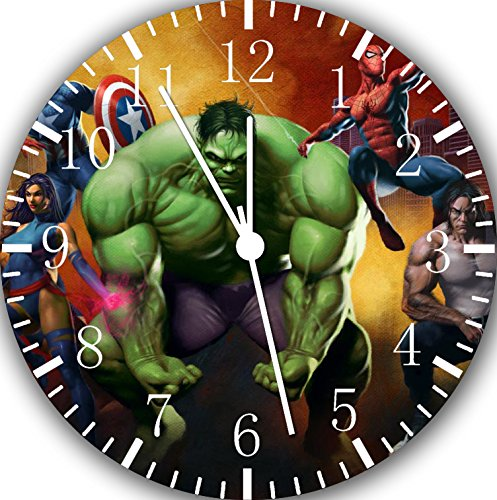 Super Hero Hulk Wall Clock