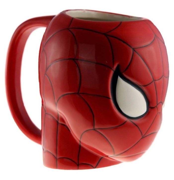Superhero Molded Mug