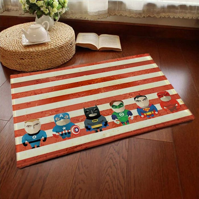 Superheros Welcome Mats