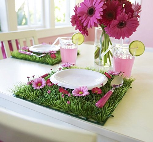 Table Decor Flower Placemat