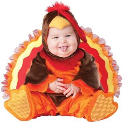 Turkey Costume for Thanksgiving