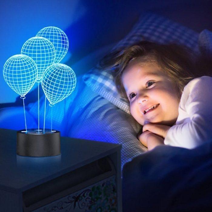 3D Optical Balloon Desk Lamp