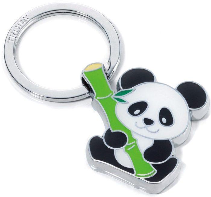 Bamboo Panda Keyring