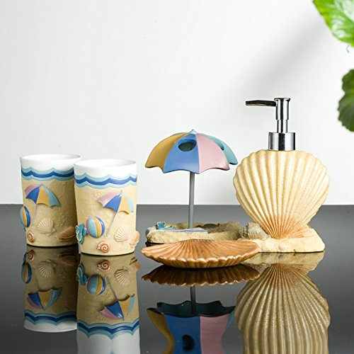 Beach Theme Bathroom Accessories