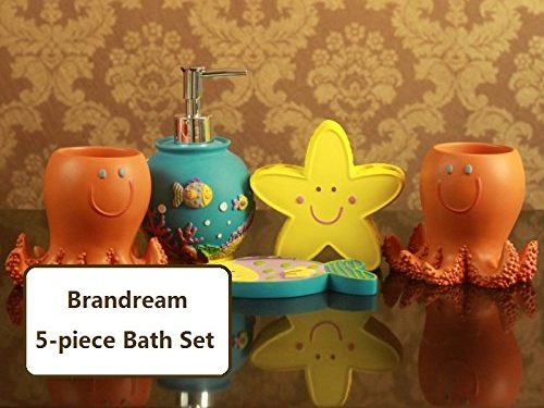 Cartoon Fish Bath Set