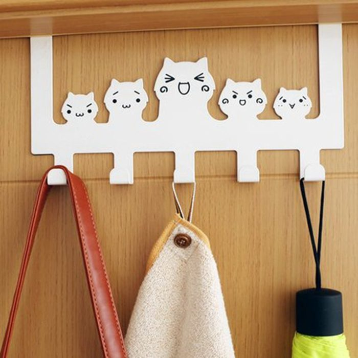 Cartoon Wall Mounted Clothing Hooks