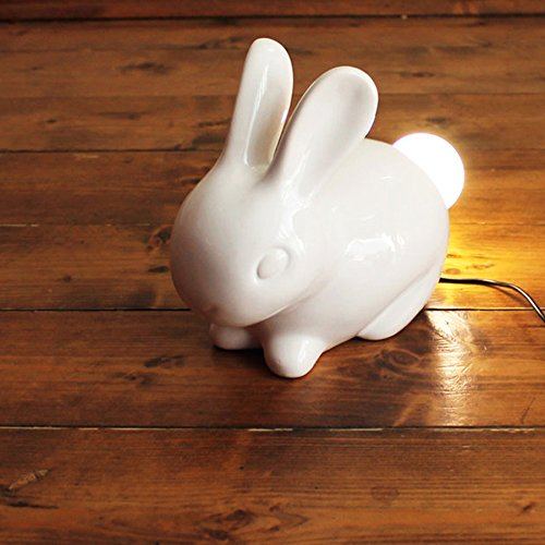 Ceramic Bunny Lamp