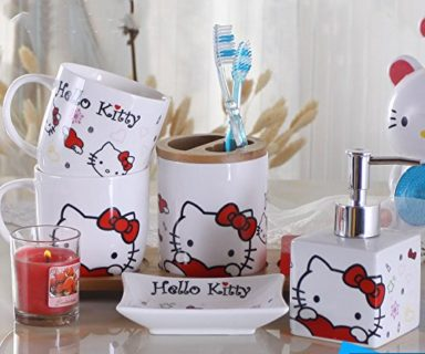 Ceramic Set Bathroom Accessory