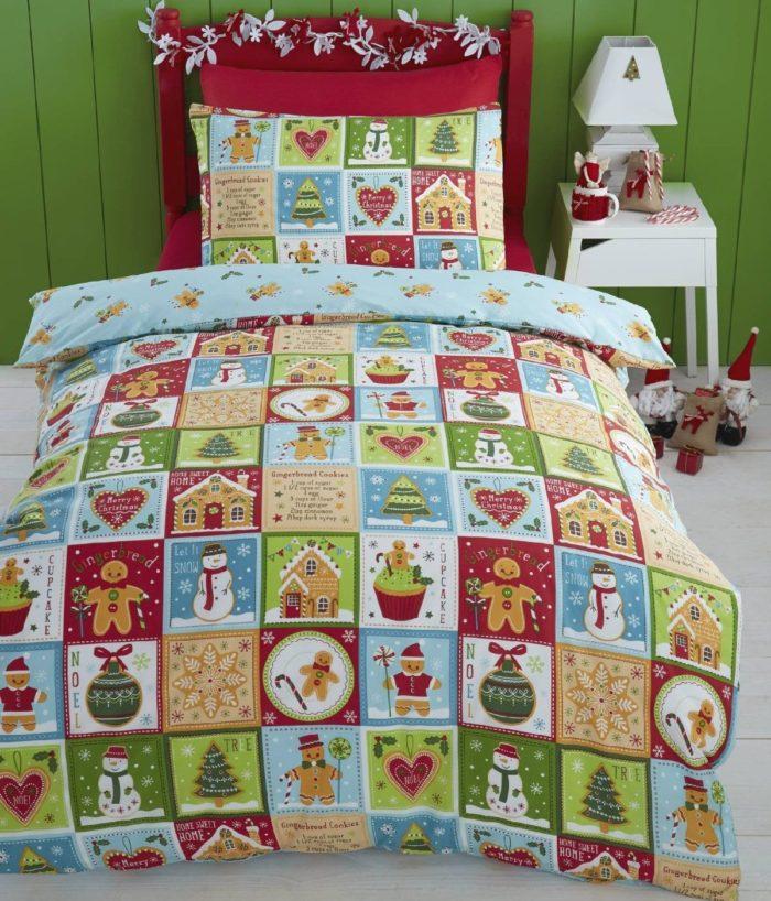 Christmas Kids Single Bed Duvet