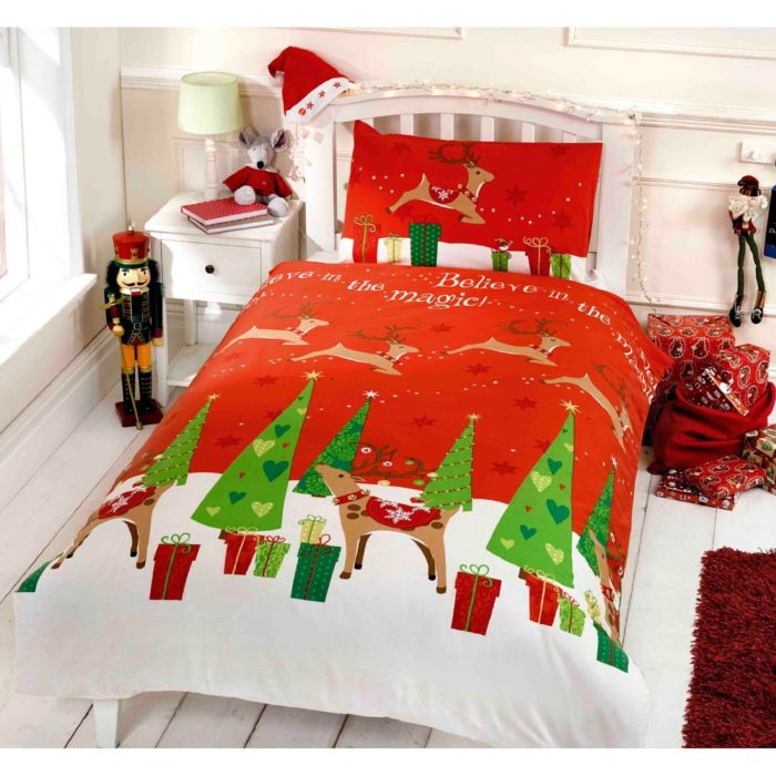 Christmas Themed Duvet Cover