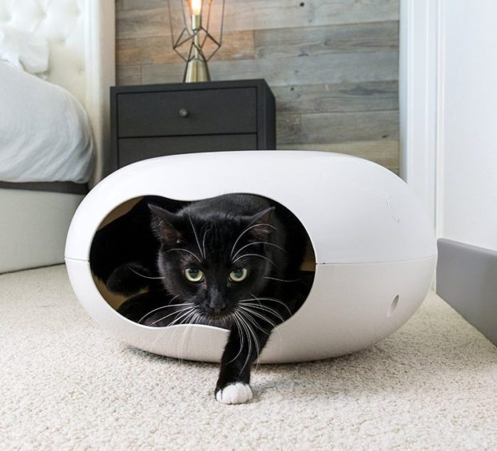Cozy Pod Cat Bed Cave