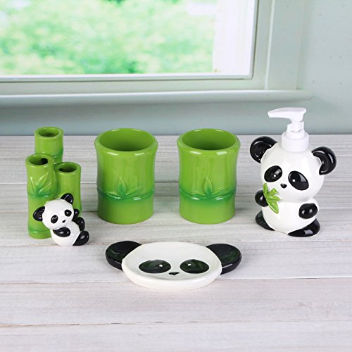 Cute Carton Panda Bathroom Accessories